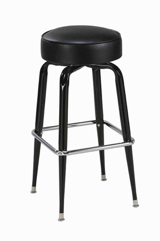 "Regal Seating 24"" Steel Square Ring Backelss Stool 1104"