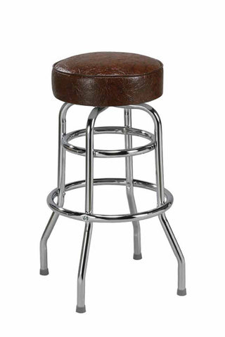 "Regal Seating 24"" Steel Double Ring Stool 1106"