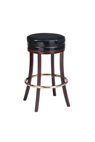 "Regal Seating 24"" Beechwood Backless Stool 1108"