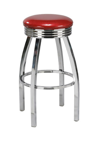 "Regal Seating 30"" Steel Backless Retro Stool 1115"
