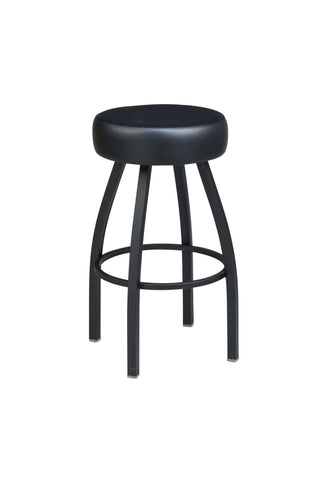 "Regal Seating 26"" Steel Backless Stool, Round Upholstered Seat 1125"