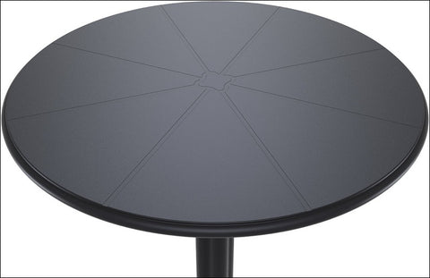 Compamia Octopus Round Bistro Table Black ISP160-BLA