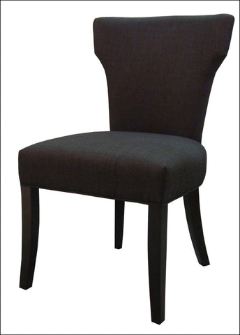 Dresden Fabric Chair, Charcoal