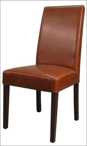 Hartford Leather Chair, Cognac
