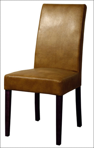 Hartford Bonded Leather Chair, Molasses