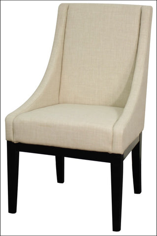 Houston Fabric Chair, Linen