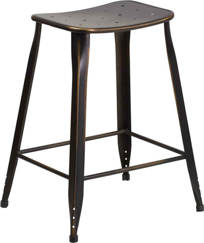 Industrial Pesestal Counter Stool