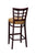 "Regal Seating 24"" Beechwood Lattice Back Stool-Fully Upholstered Seat W/ Nail Trim 2411fus - YourBarStoolStore + Chairs, Tables and Outdoor  - 2"