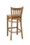 "Regal Seating 31"" Beechwood Vertical Slat Stool - Wood Seat 2423w - YourBarStoolStore + Chairs, Tables and Outdoor  - 2"