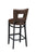 "Regal Seating 31"" Beechwood Square Cut Out Back Stool With Fully Upholstered Seat 2426fus - YourBarStoolStore + Chairs, Tables and Outdoor  - 2"