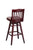 "Regal Seating 24"" Beechwood School House Swivel Stool - Upholstered Seat 2454u-swv - YourBarStoolStore + Chairs, Tables and Outdoor  - 2"