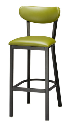 "Regal Seating 24"" Steel Upholstered Seat And Back Stool 2508usb"