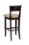 "Regal Seating 26"" Beechwood Beidermier Stool - Standard Upholstered Seat And Inside Back 2568usb - YourBarStoolStore + Chairs, Tables and Outdoor  - 2"