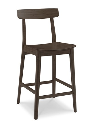Currant Bamboo Counter Stools Black Walnut Classic