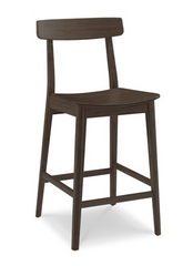 Currant Bamboo Counter Stools Black Walnut Classic - YourBarStoolStore + Chairs, Tables and Outdoor  - 1