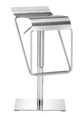 Dazzer Barstool - Brushed Steel