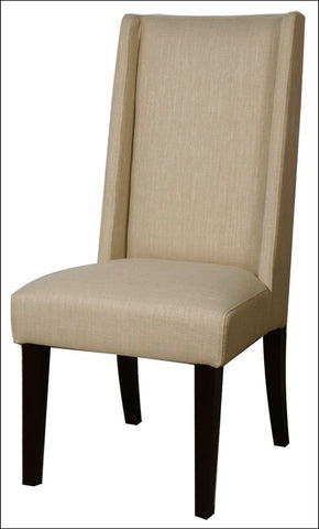 Lucas Fabric KD Dining Chair, Flax