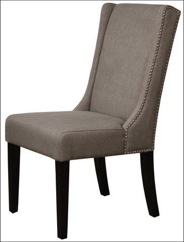 Holden Dining Chair, Gun Metal