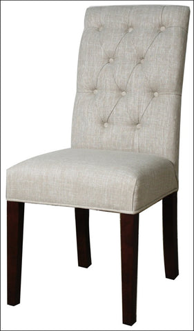 Gwendoline Tufted Side Chair, Rice