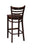 "Regal Seating 24"" Beechwood Ladder Back Stool - Wood Seat 415w - YourBarStoolStore + Chairs, Tables and Outdoor  - 2"