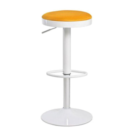 Aeon Carrie-Orange Bar Stool M-90117P-Orange (Set of 2)
