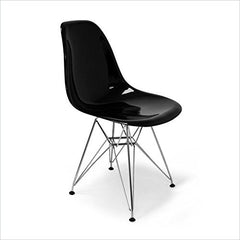 Aeon Chantal Chair CH6136-AE-BlkGloss-SS - YourBarStoolStore + Chairs, Tables and Outdoor