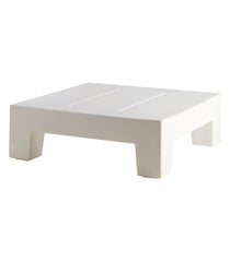 Vondom Jut Sun Chaise Table - White