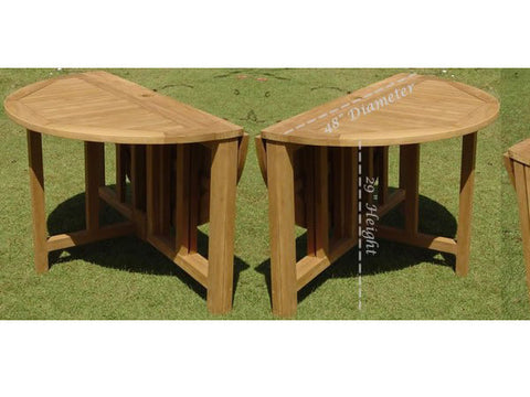 "48"" Round Butterfly Dining Table"