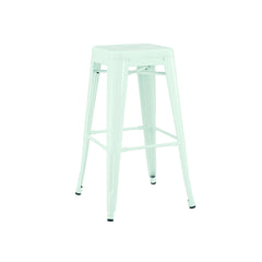 Dreux Matte Mint Steel Stackable Counter Stool 26 Inch