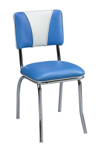 "Regal Seating 18"" Retro Diner Chair -V-Back 513v"