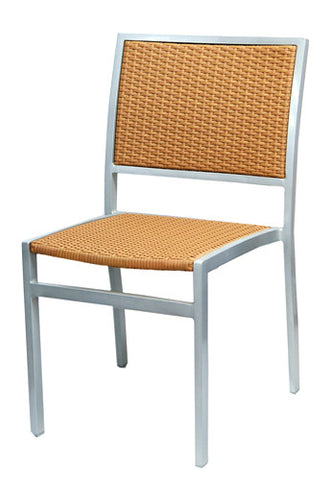 Commercial Chair Model 528SH Honey wicker