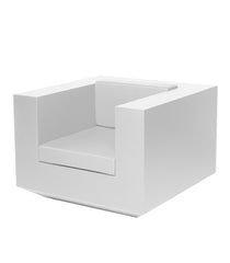 Vondom Vela Lounge Chair - White