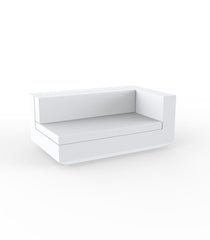 Vondom Vela Sectional Sofa XL Left - White