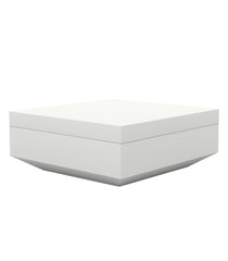 Vondom Vela Ottoman-Chaiselongue - White