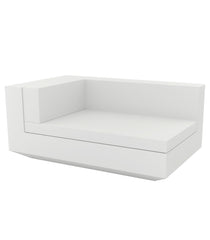 Vondom Vela Sectional Chaiselongue Right - White