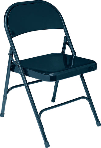 Blue Standard All-Steel Folding Chairs 54
