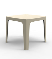 Vondom Solid Dining Table - Ecru