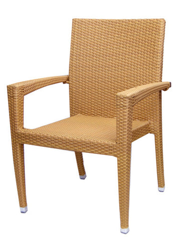 Commercial Chair Model 563AH Honey wicker