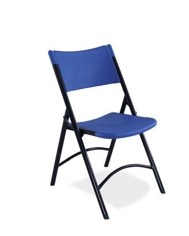 Blue on Black Blow Molded Chairs 604