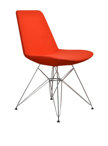 Aeon Paris Orange Chair AE1358-B16 (Set of 2)