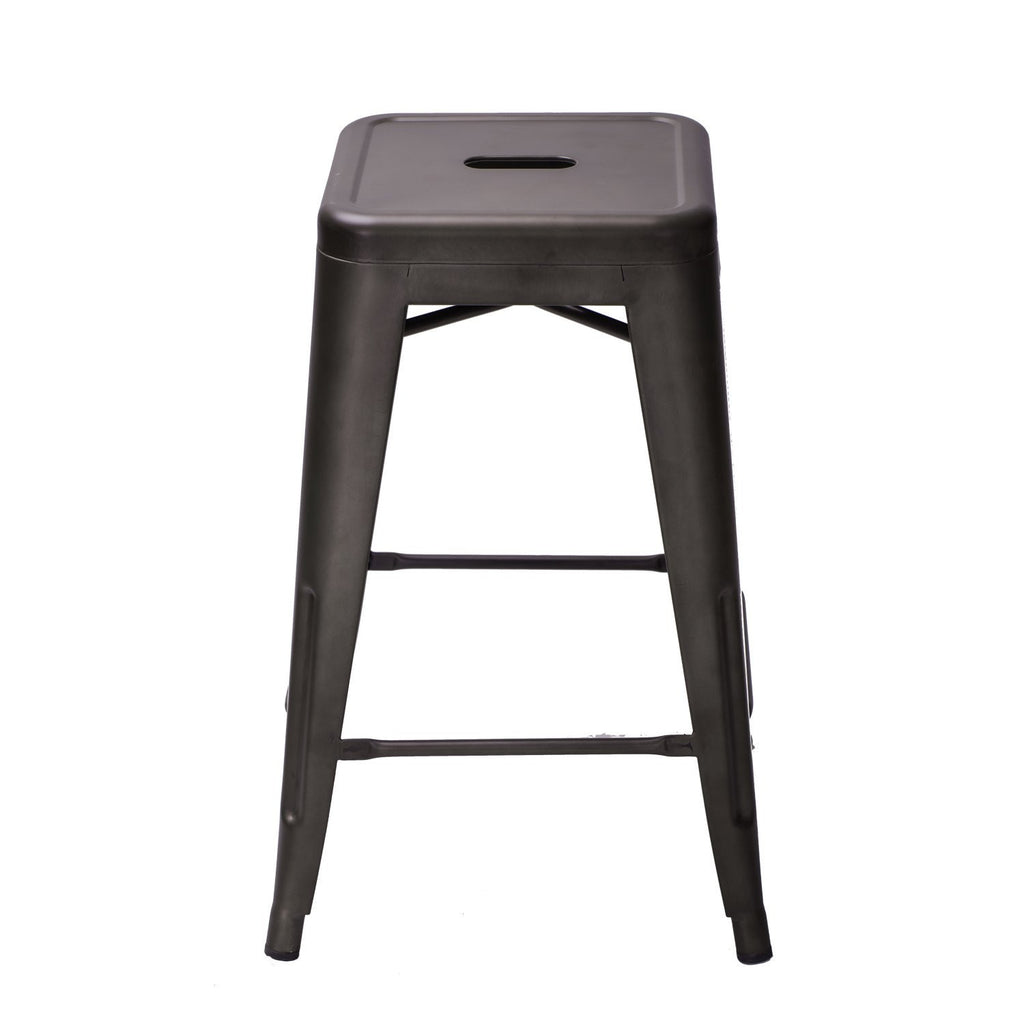... Bronze Metal Tolix-style Chair Counter Stool (Set of 2) - YourBarStoolStore +  sc 1 st  YourBarStoolStore.com & Bronze Metal Tolix-style Chair Counter Stool (Set of 2) | On Sale ... islam-shia.org
