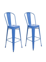 Aeon Garvin Barstool  Bar Stool AE3504-30-14-Blue (Set of 2) - YourBarStoolStore + Chairs, Tables and Outdoor