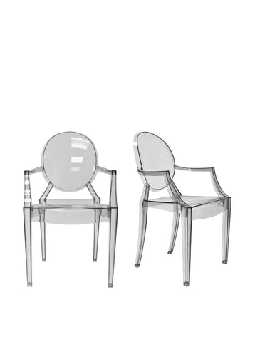 Aeon Specter Arm Chair AE8072-Smoke (Set of 2)