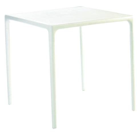 Compamia Mango Square Dining Table White 28 inch ISP800-WHI