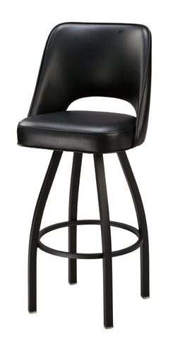 "Regal Seating 26"" Cut-Out Back Bucket Stool, 1115 Base 85-1115"
