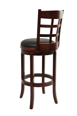 Boraam 29Inchkyoto Swivel Stool Cherry 41229