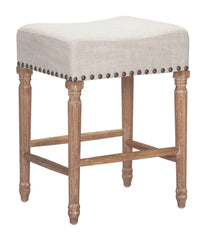 Anaheim Counter Height Barstool - Beige
