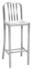 "Aluminum Dining Stool 24"" - YourBarStoolStore + Chairs, Tables and Outdoor"