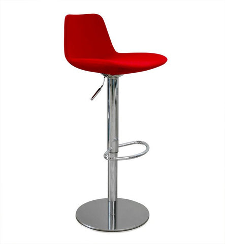 Aeon Angie - Red Bar Stool AE2358-A24-1