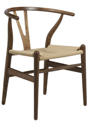 Aeon Albany-2 Chair CH7251-Walnut - YourBarStoolStore + Chairs, Tables and Outdoor